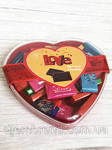 Шоколадные конфеты Love, молочный шоколад, Vanelli , 150 гр