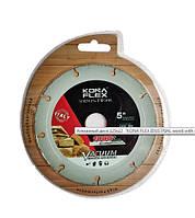"""Алмазный диск 125x22 """"KONA FLEX IDUSTRIAL wood with nails"""" для резки дерева с гвоздями,пластика."""