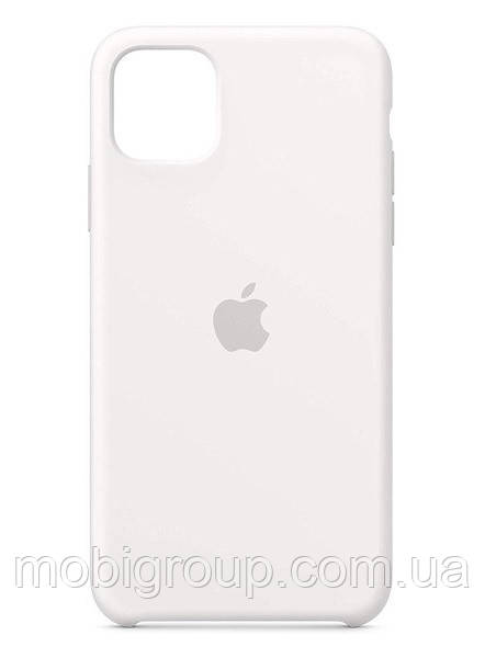 Чехол Silicone Case для iPhone 11 Pro Max, White