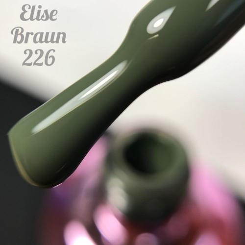 Гель-лак Elise Braun 15 мл, № 226