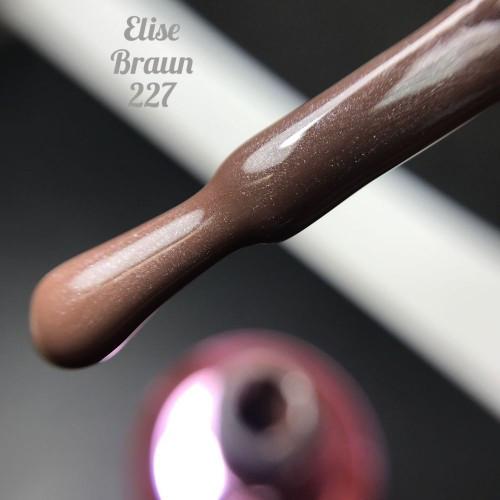 Гель-лак Elise Braun 15 мл, № 227