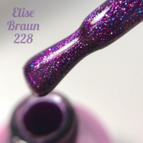 Гель-лак Elise Braun 15 мл, № 228