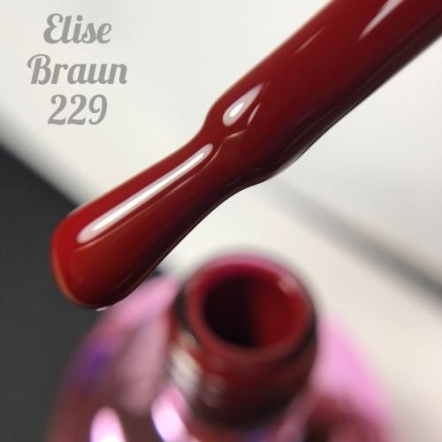 Гель-лак Elise Braun 15 мл, № 229