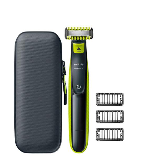 Триммер Philips OneBlade QP2520 Body Kit - 1 насадка + футляр QP100 ЕС