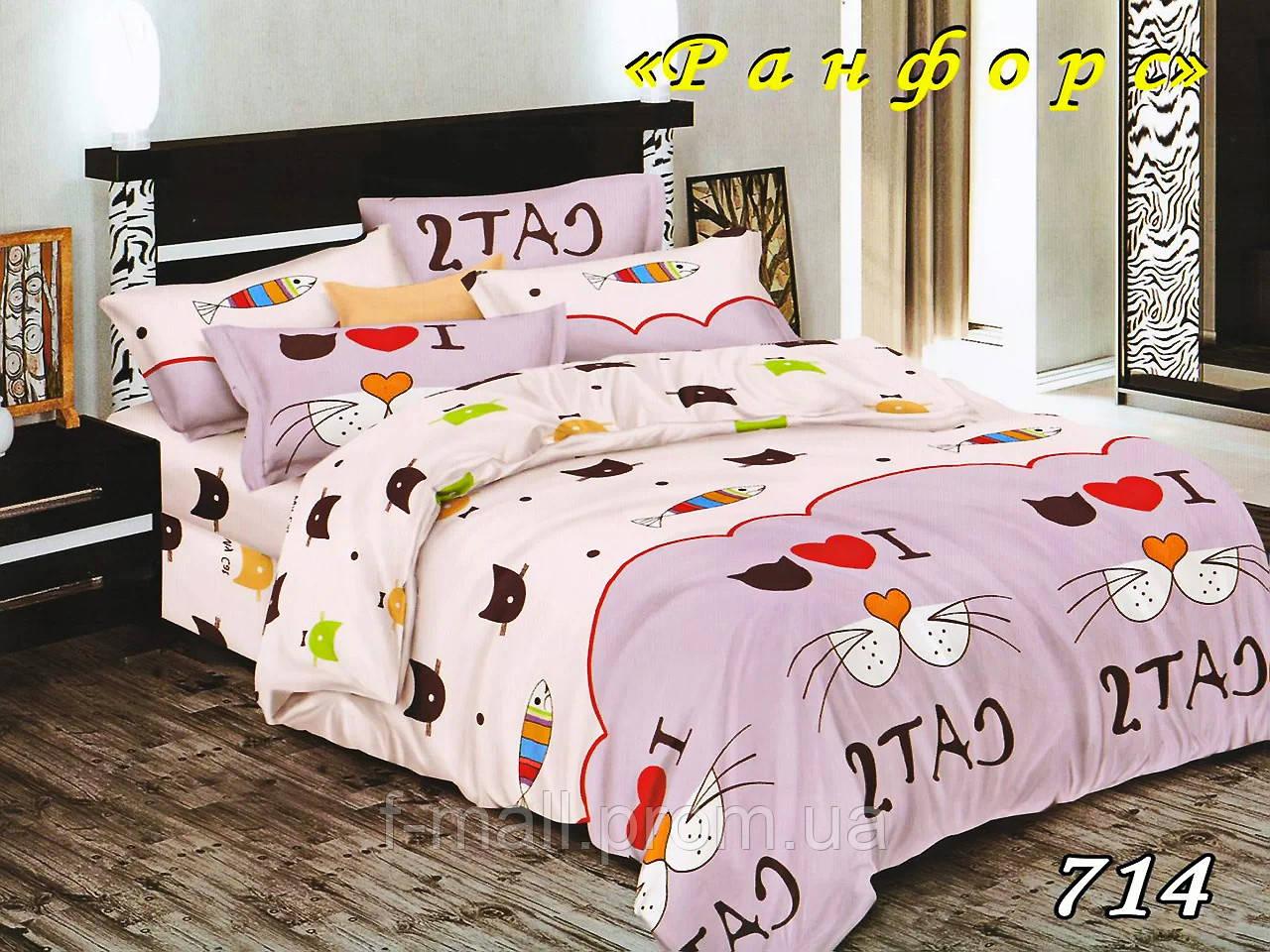 Комплект детского постельного белья Тет-А-Тет (Украина) ранфорс полуторное (714)