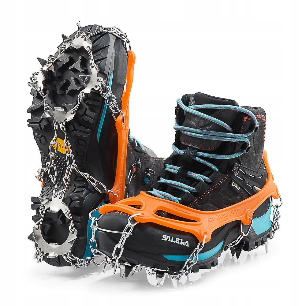 Ледоходы (ледоступы) на обувь Mountain Goat Plus 19 Nails Size L