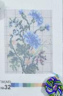 Печать на вышив.ткани ПМ А5 с мулине №32 уп=1шт
