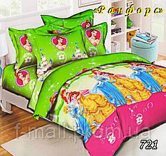 Комплект детского постельного белья Тет-А-Тет (Украина) ранфорс полуторное (721)