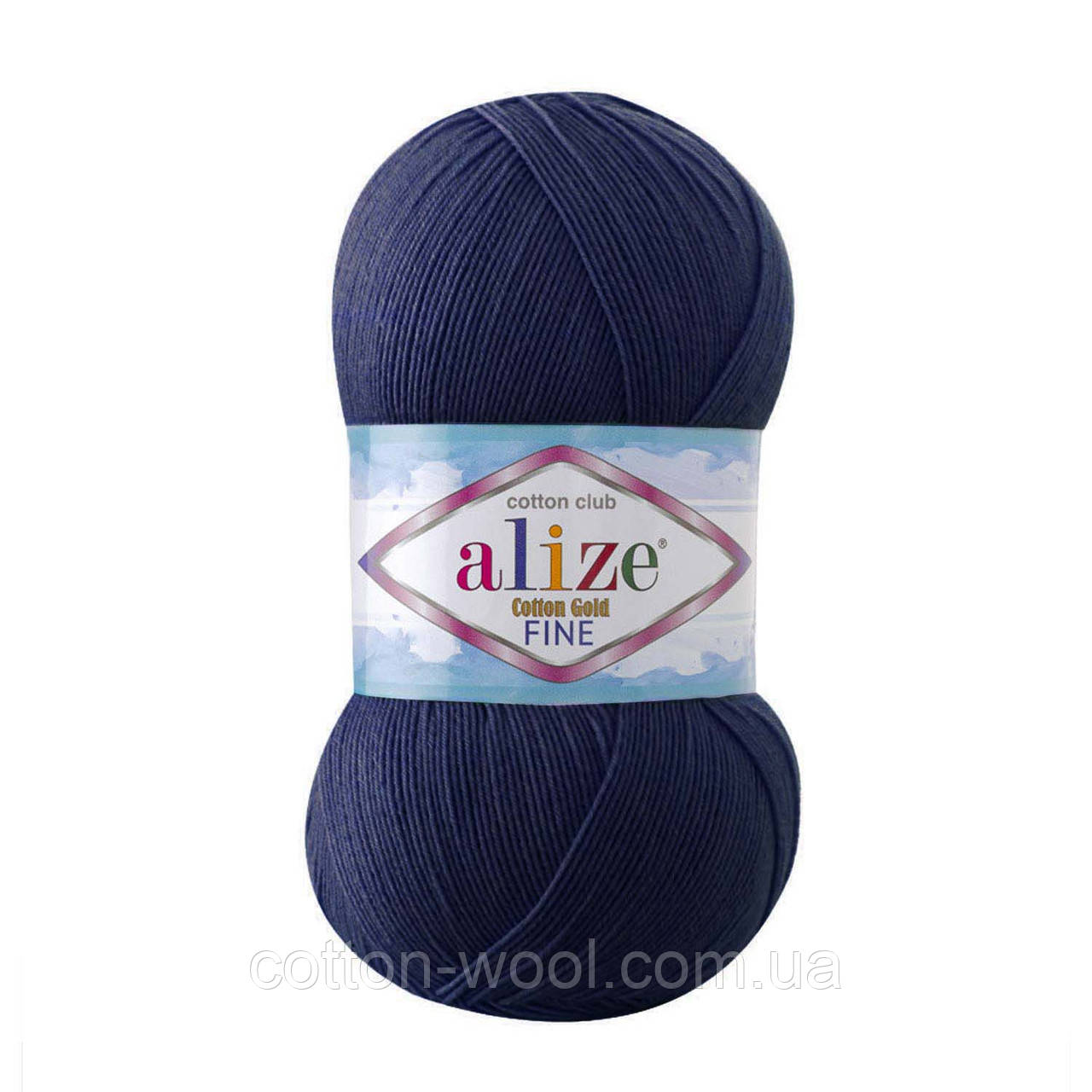 Alize Cotton  Gold Fine (Коттон Голд Файн) 55% - бавовна, 45% - акріл 58