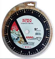 "Алмазный диск 230x22 ""KONA FLEX IDUSTRIAL UNIVERSAL"" для резки металла,камня,дерева,пластика."