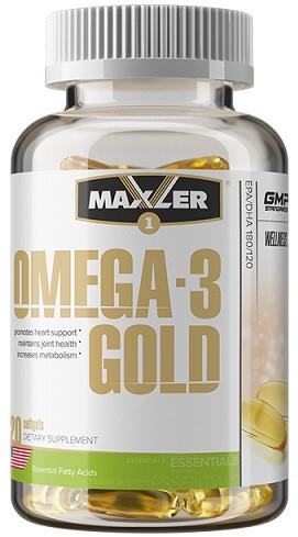 Омега Maxler - Omega - 3 Gold (120 капсул)