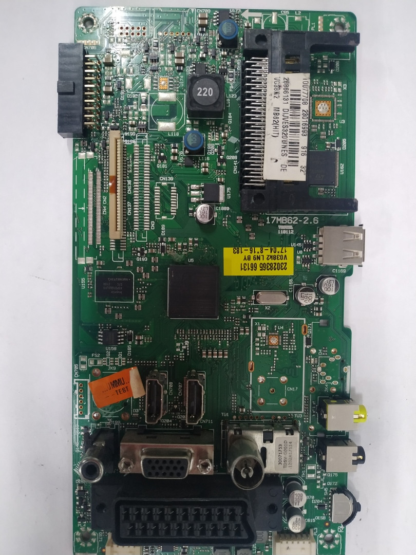 Материнська плата 17MB62-2.6 (v038k2) для телевізора TOSHIBA 32KL933R