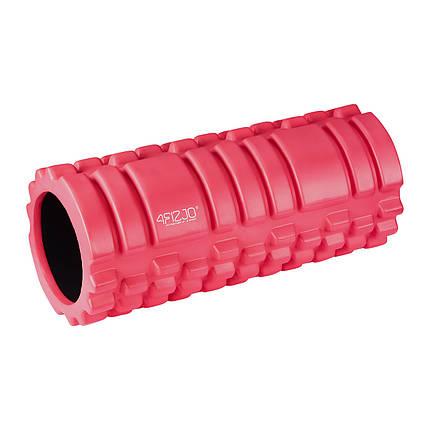 Массажный ролик (валик, роллер) 4FIZJO 33 x 14 см 4FJ0084 Red, фото 2