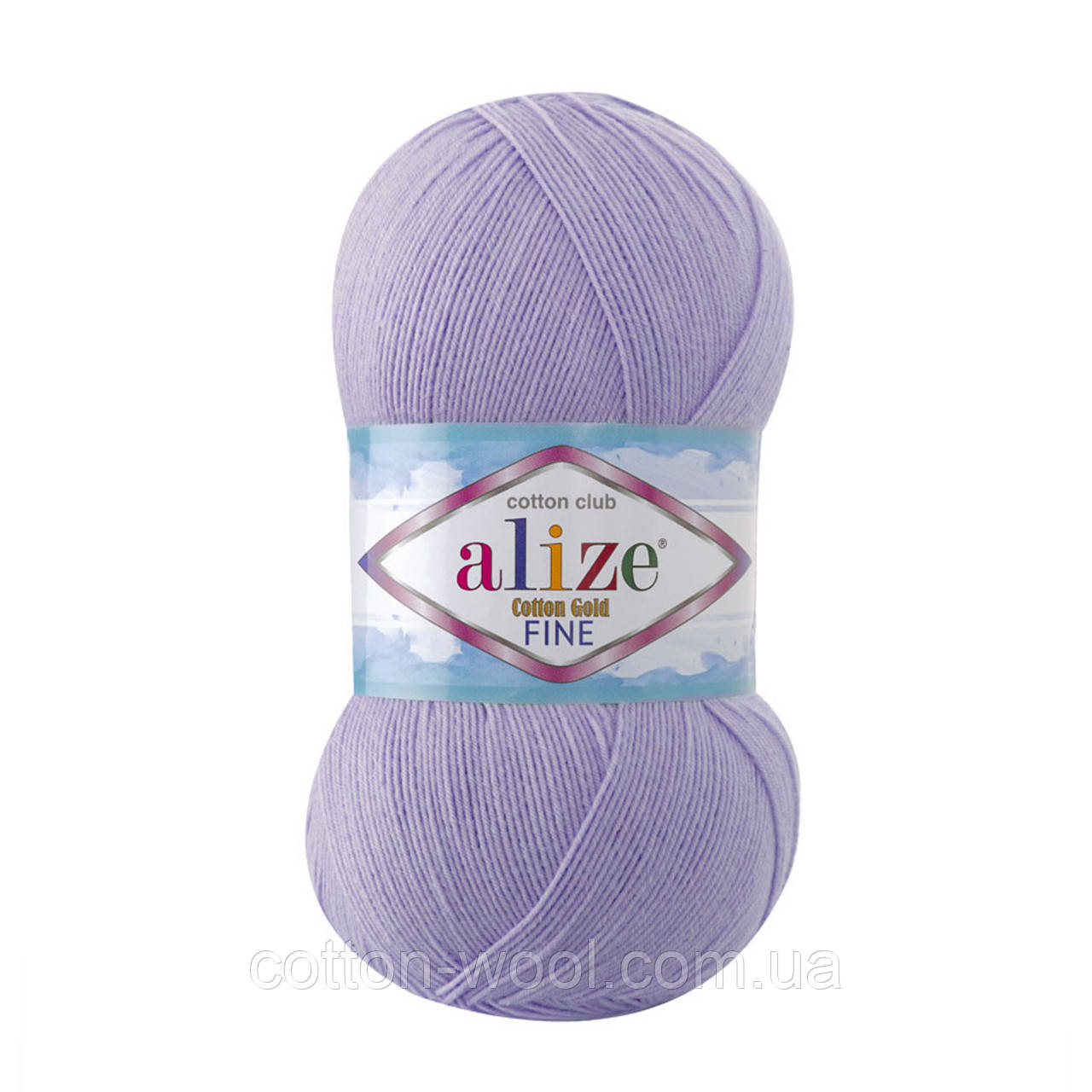 Alize Cotton  Gold Fine (Коттон Голд Файн) 55% - бавовна, 45% - акріл 166
