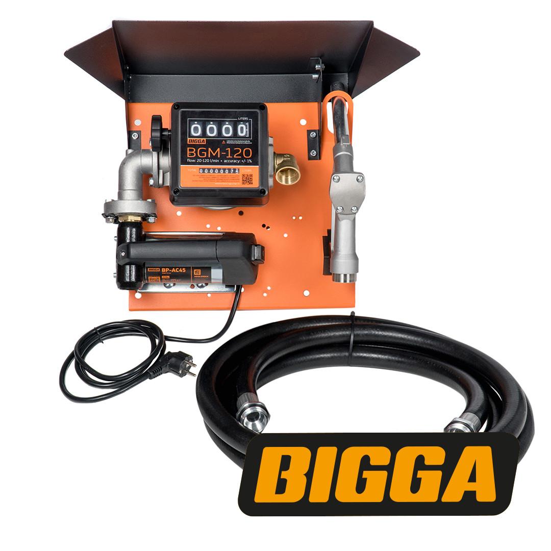 Bigga Gamma AC-45 - узел для заправки дизельным топливом со счетчиком, 220В, 45 л/мин.