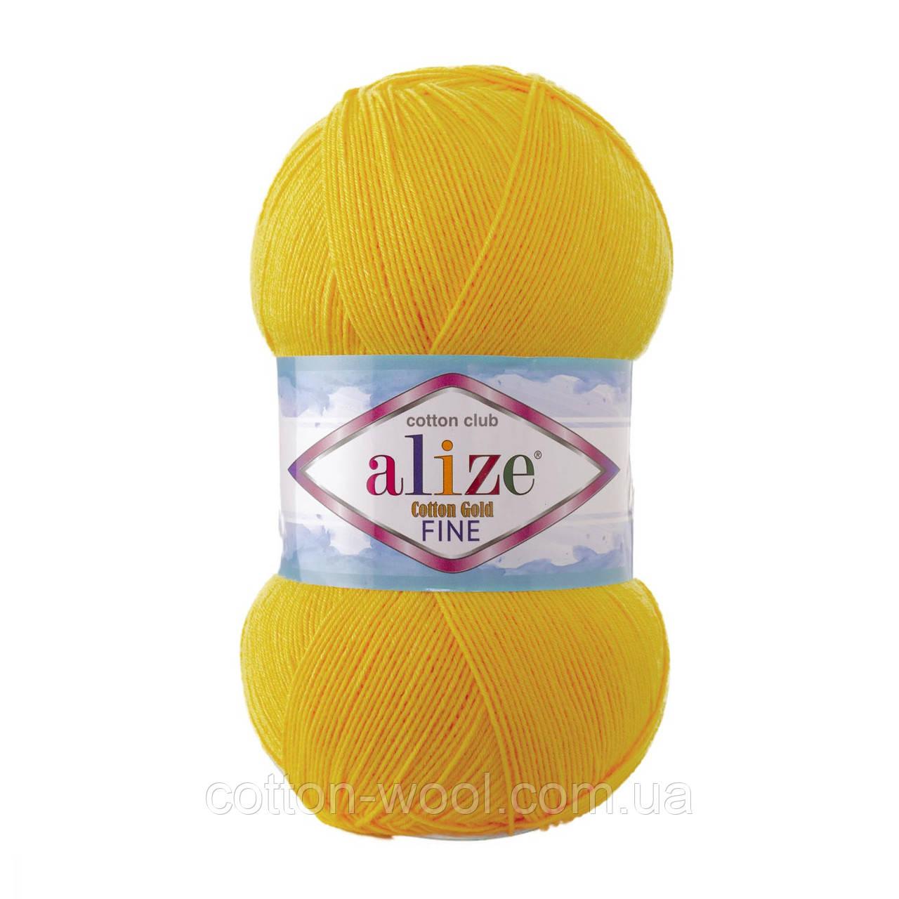 Alize Cotton  Gold Fine (Коттон Голд Файн) 55% - бавовна, 45% - акріл 216
