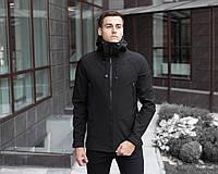 Мужская Куртка Pobedov Soft Shell Black