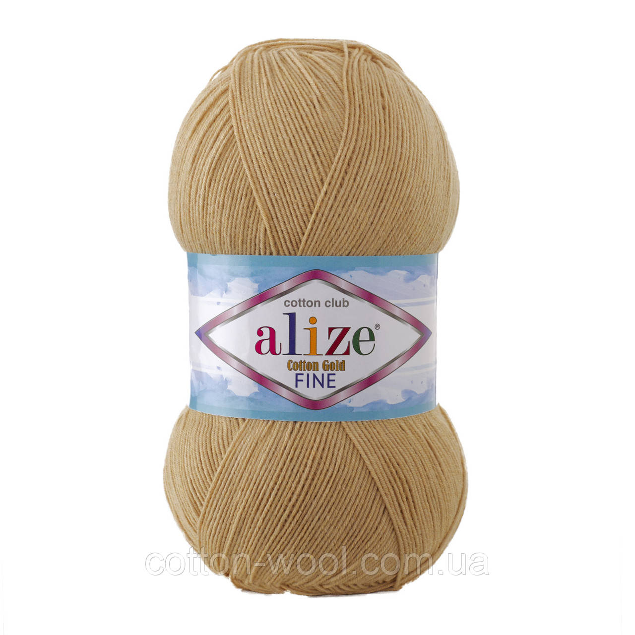 Alize Cotton  Gold Fine (Коттон Голд Файн) 55% - бавовна, 45% - акріл 262
