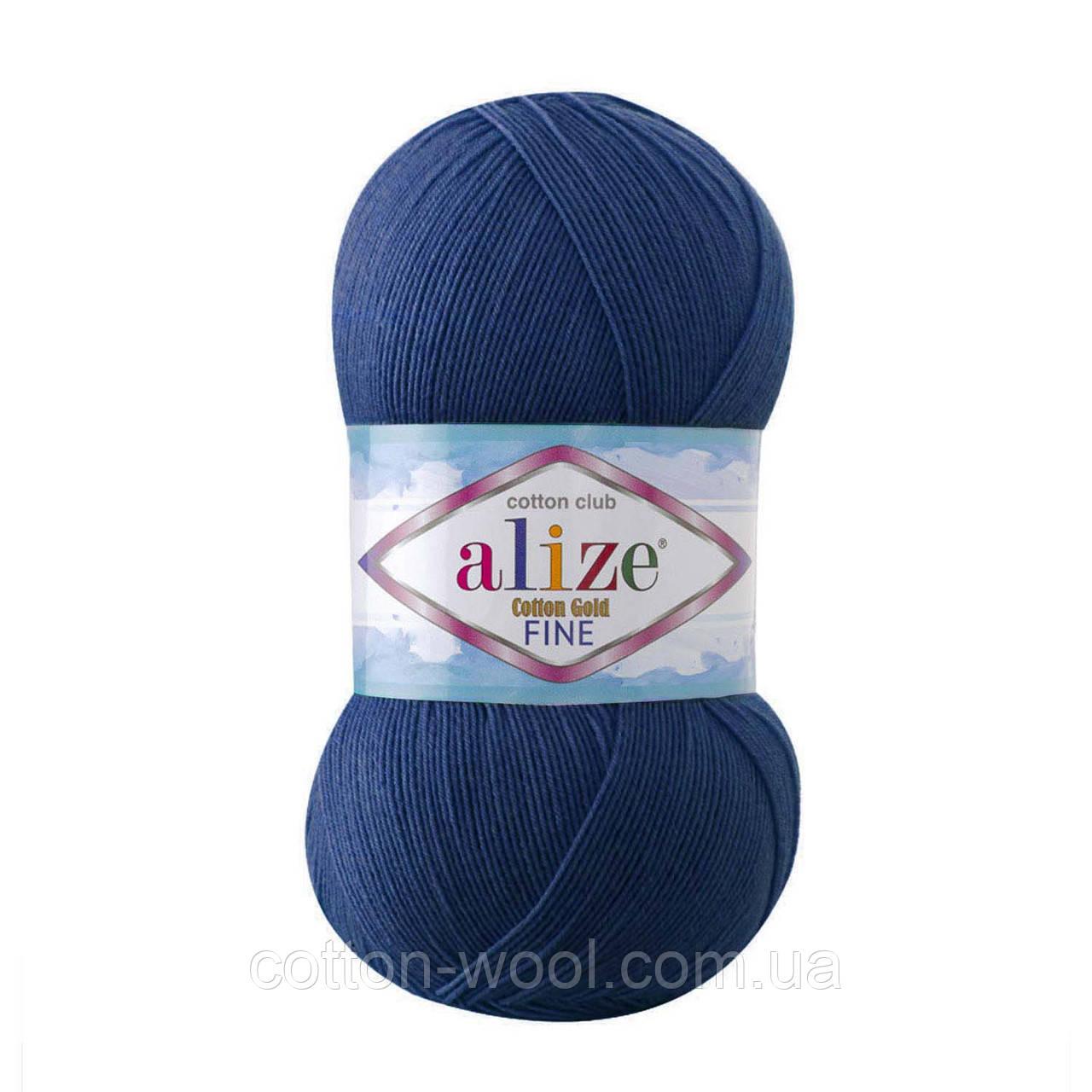 Alize Cotton  Gold Fine (Коттон Голд Файн) 55% - бавовна, 45% - акріл 279