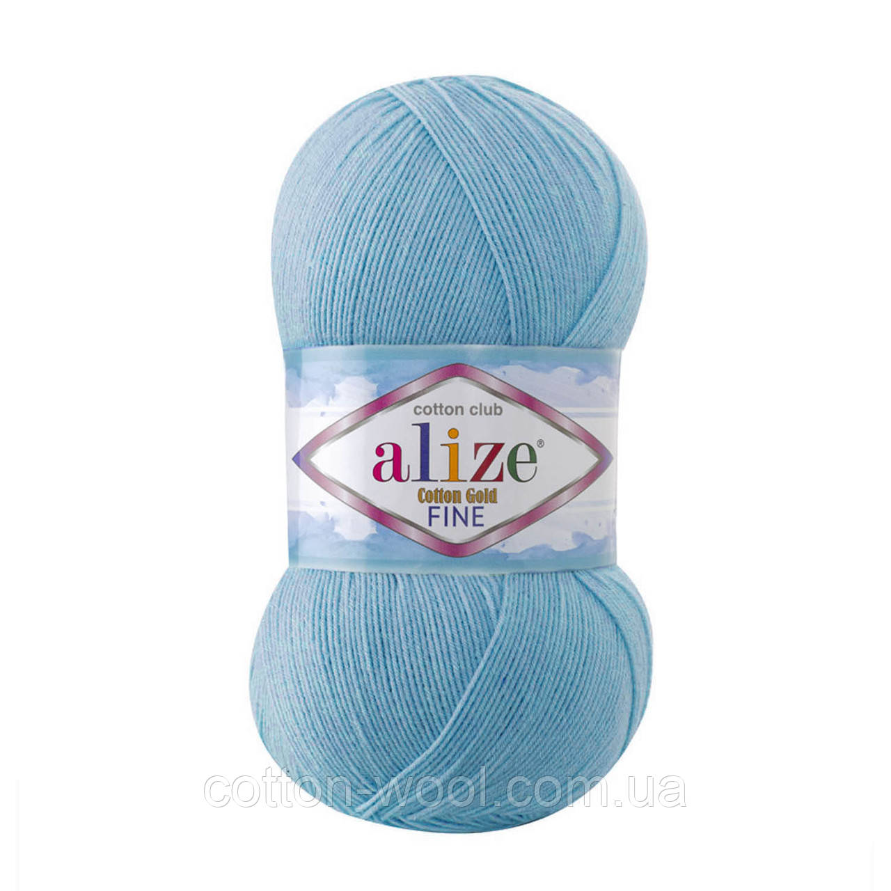 Alize Cotton  Gold Fine (Коттон Голд Файн) 55% - бавовна, 45% - акріл 287