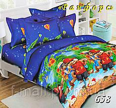 Комплект детского постельного белья Тет-А-Тет (Украина) ранфорс полуторное (658)