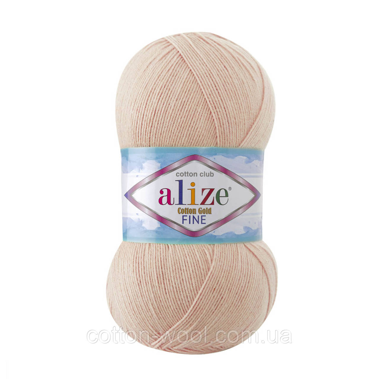Alize Cotton  Gold Fine (Коттон Голд Файн) 55% - бавовна, 45% - акріл 382