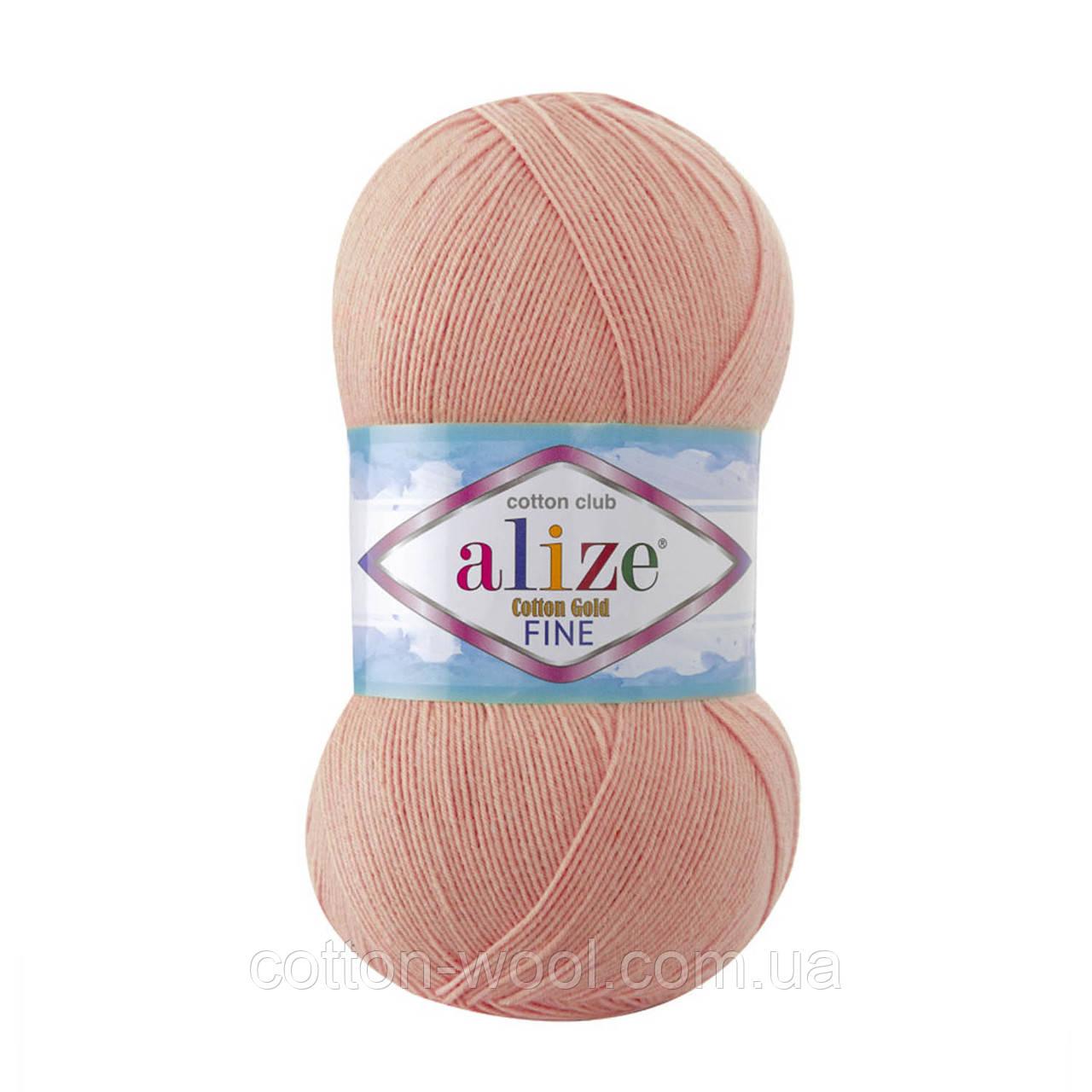 Alize Cotton  Gold Fine (Коттон Голд Файн) 55% - бавовна, 45% - акріл 393
