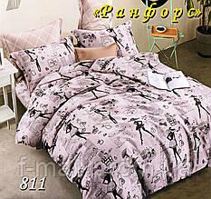 Комплект детского постельного белья Тет-А-Тет (Украина) ранфорс полуторное (811)