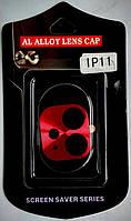 Рамка на камеру для iPhone 11 червоний