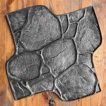"""Поліуретановий штамп для бетону """"Галька"""", для підлоги і доріжок"""