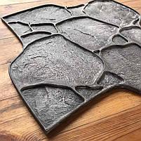 """Поліуретановий штамп для бетону """"Галька"""", для підлоги і доріжок, фото 3"""
