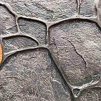 """Поліуретановий штамп для бетону """"Галька"""", для підлоги і доріжок, фото 4"""