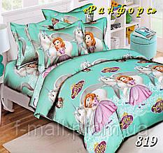 Комплект детского постельного белья Тет-А-Тет (Украина) ранфорс полуторное (819)