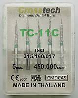 Стоматологические алмазные боры 5 шт. TC - 11C CROSSTECHI