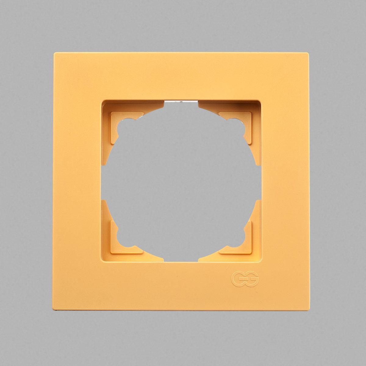 Eqona рамка 1-ая оранжевая