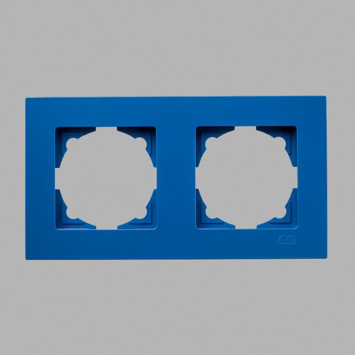 Eqona рамка 2-ая голубая