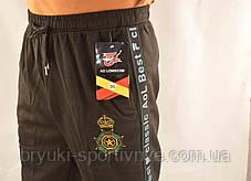 Брюки спортивные мужские под манжет с принтом XL - 5XL  Штаны в рубчик Ao longcom, фото 3