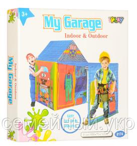 """Детская палатка """"Мой гараж"""". Размер ДхШхВ: 150-75-110 см. M 5685, фото 2"""
