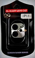Рамка на камеру для iPhone 11 сталь