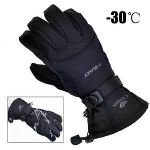 Мужские горнолыжные перчатки HEAD черный