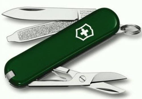 Швейцарский складной нож Victorinox Classic Sd 06223.4 зеленый