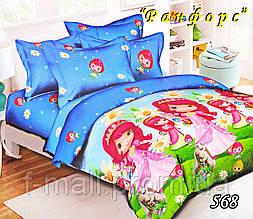 Комплект детского постельного белья Тет-А-Тет (Украина) ранфорс полуторное (568)