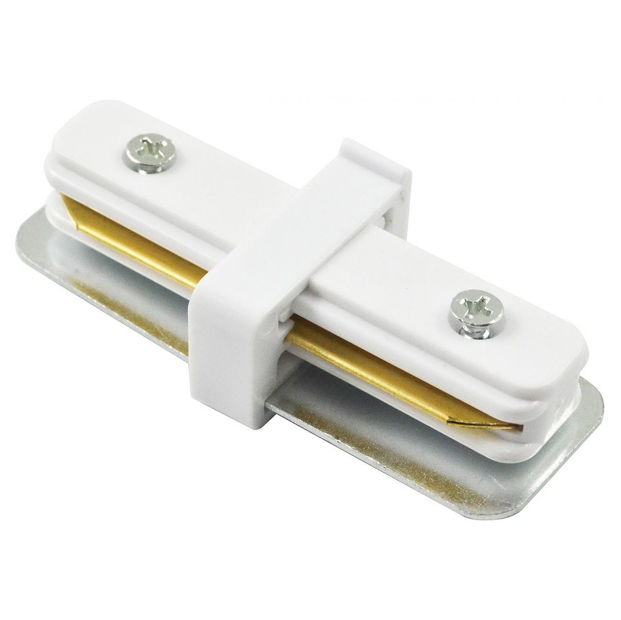 Коннектор прямой LD1000 белый