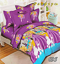 Комплект детского постельного белья Тет-А-Тет (Украина) ранфорс полуторное (695)