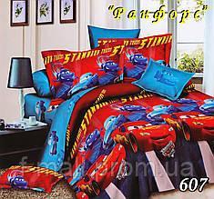Комплект детского постельного белья Тет-А-Тет (Украина) ранфорс полуторное (607)