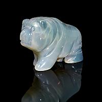 Статуэтка Медведь из лунного камня, 544ФГЛ