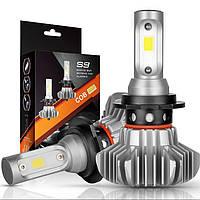 Автомобильные лампы   Led лампы для автомобиля LED S9 H4 Светодиодные автомобильные лампы Автолампы