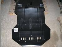 Защита поддона, защита картера двигателя и КПП Chery Amulet, Чери Амулет  (+крепеж)