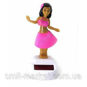 Гавайская девочка танцующая на солнечной батарее (Flip Flap) (10,5х6х6 см)