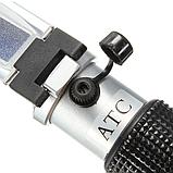 Рефрактометр для цукру АТС BRIX 0-90% вимірювач вмісту цукру, фото 4
